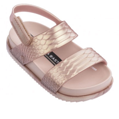 BE Cosmic Sandal Rose Gold Metallic
