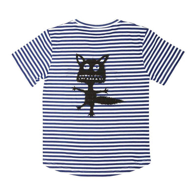 Crazy Eddie Stripe Tee