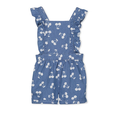 Girls Denim Playsuit