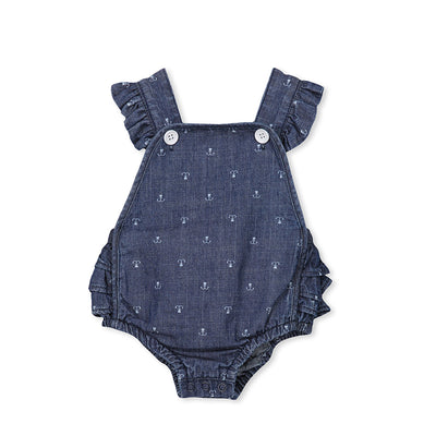 Denim Baby Playsuit
