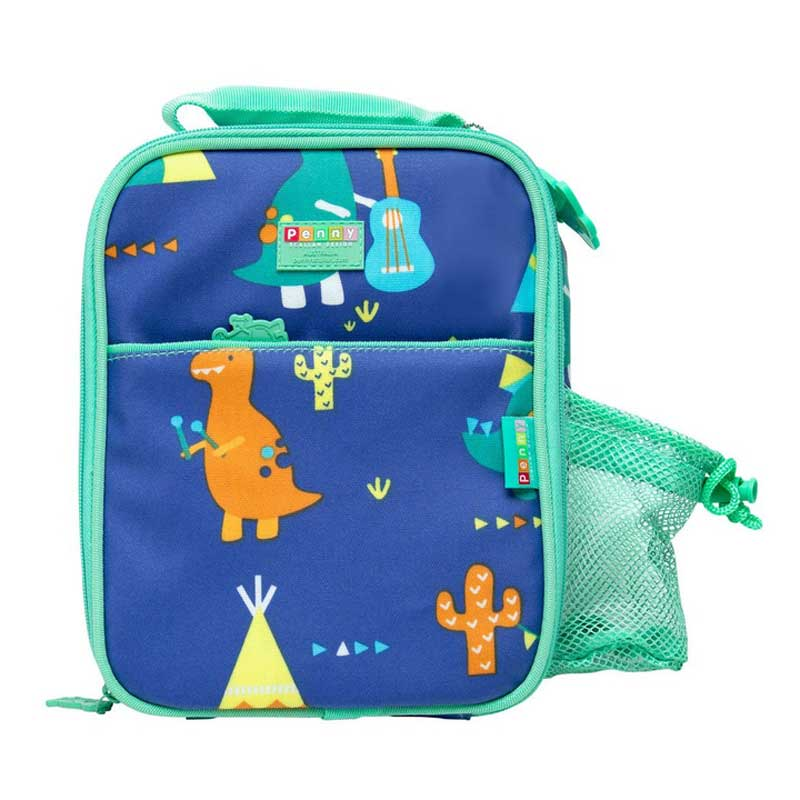 Bento Cooler Bag Dino Rock