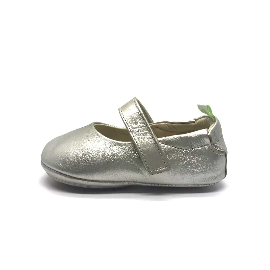 Dolly Girls Shoe Whitegold
