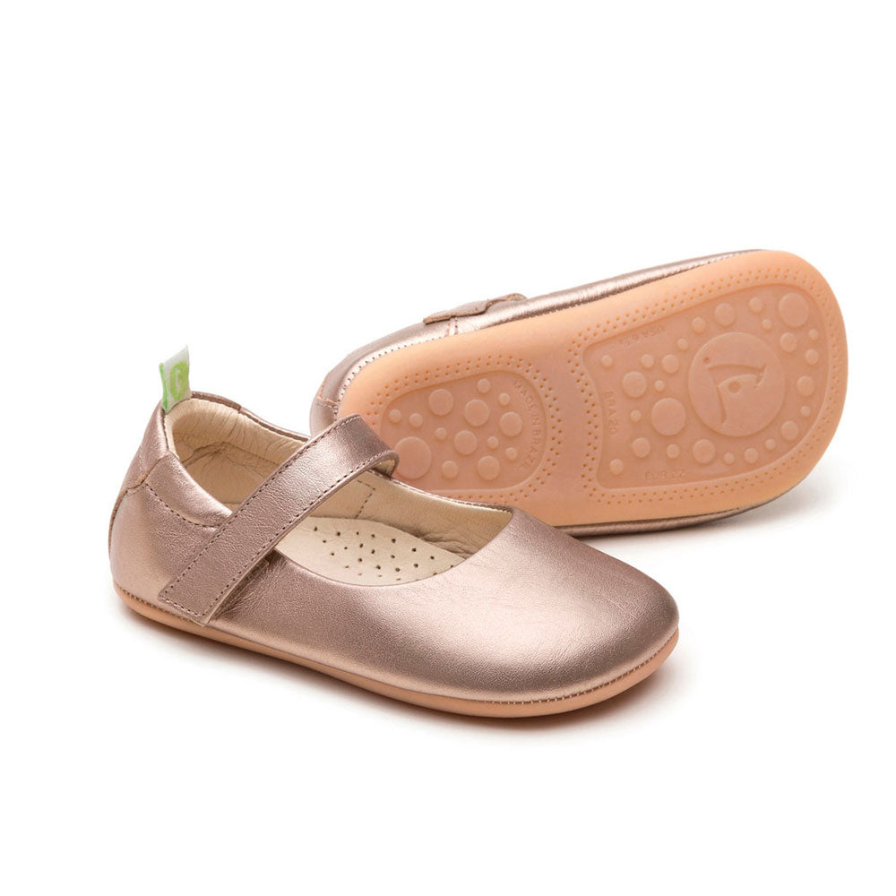 Dolly Baby Shoe Gold Sparkle