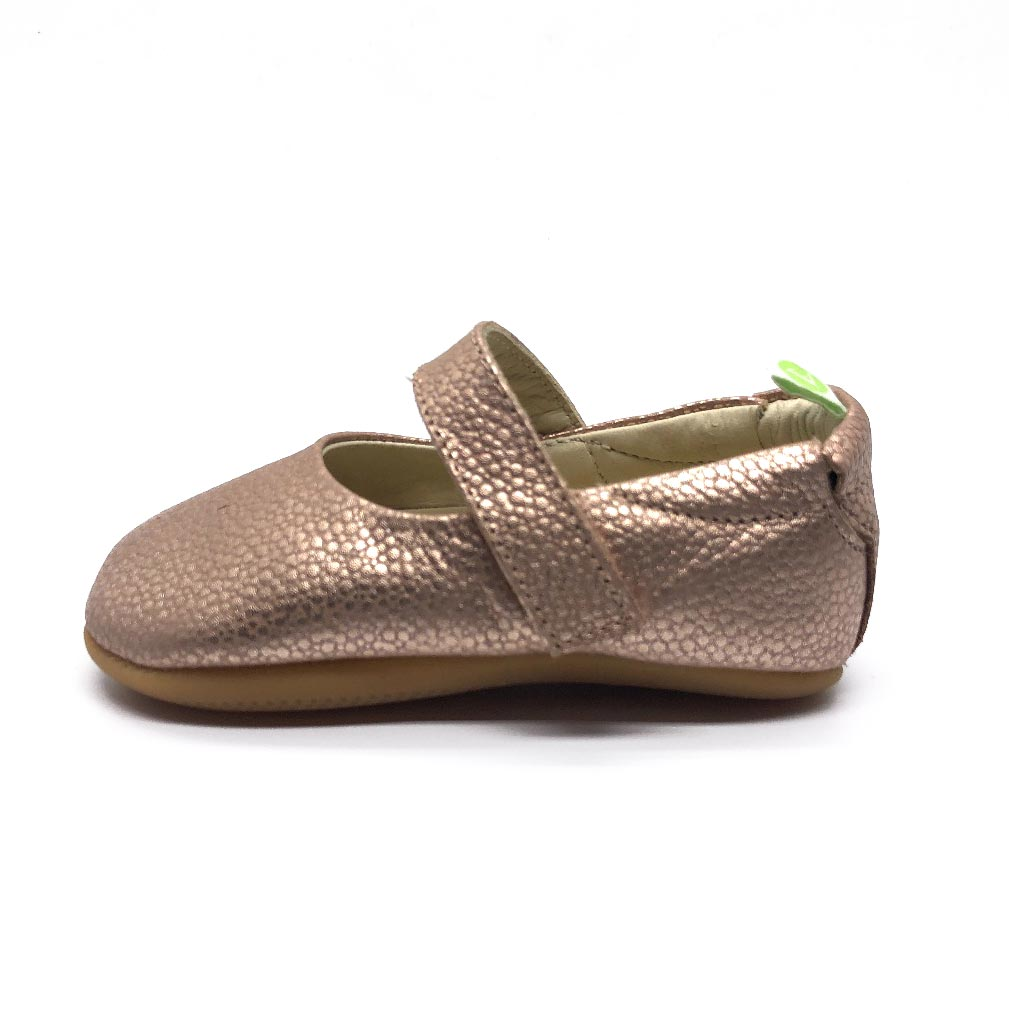Dolly Baby Shoe Pink Gold