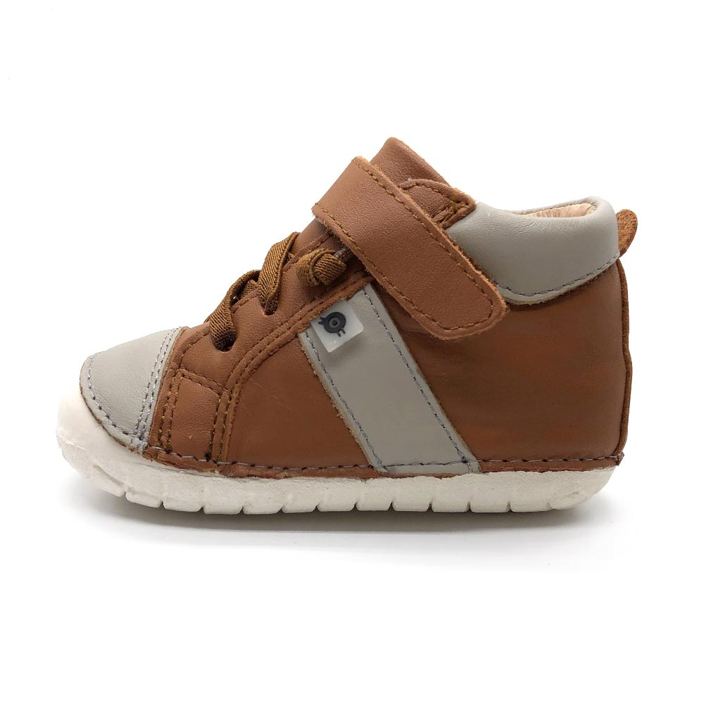 Earth Pave High Top Tan/Gris