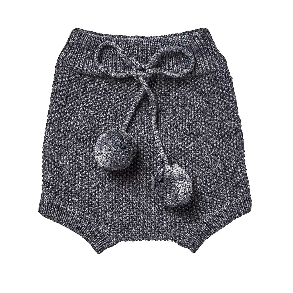 Elfin Knitted Bloomers Charcoal
