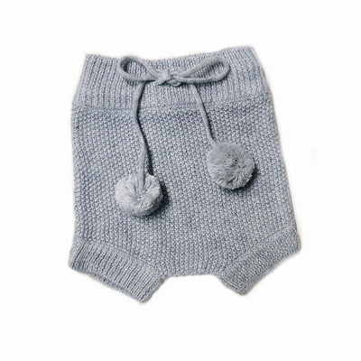 Elfin Knitted Bloomers Grey