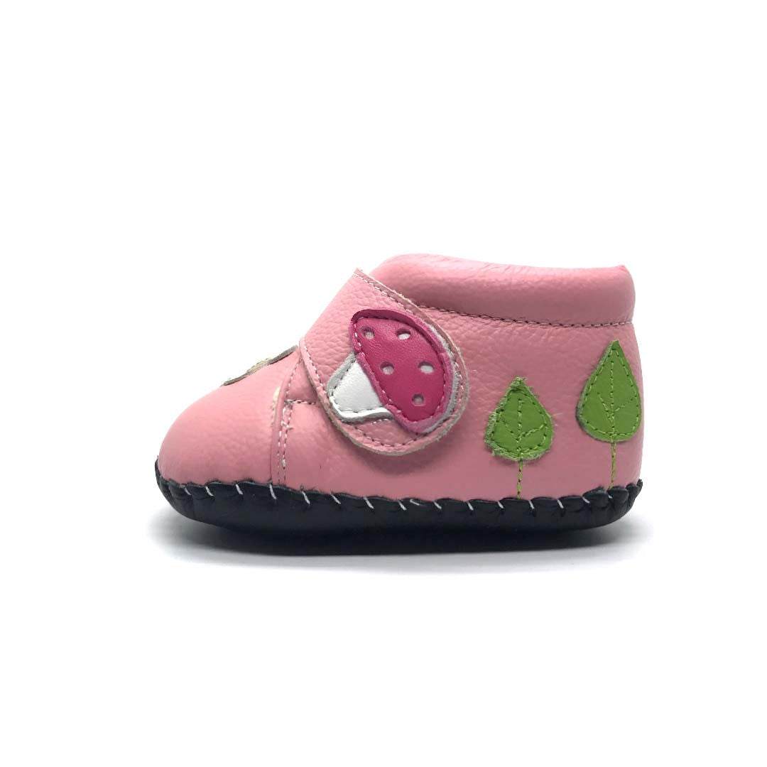 Enchanted Garden Soft Sole Boots Pink