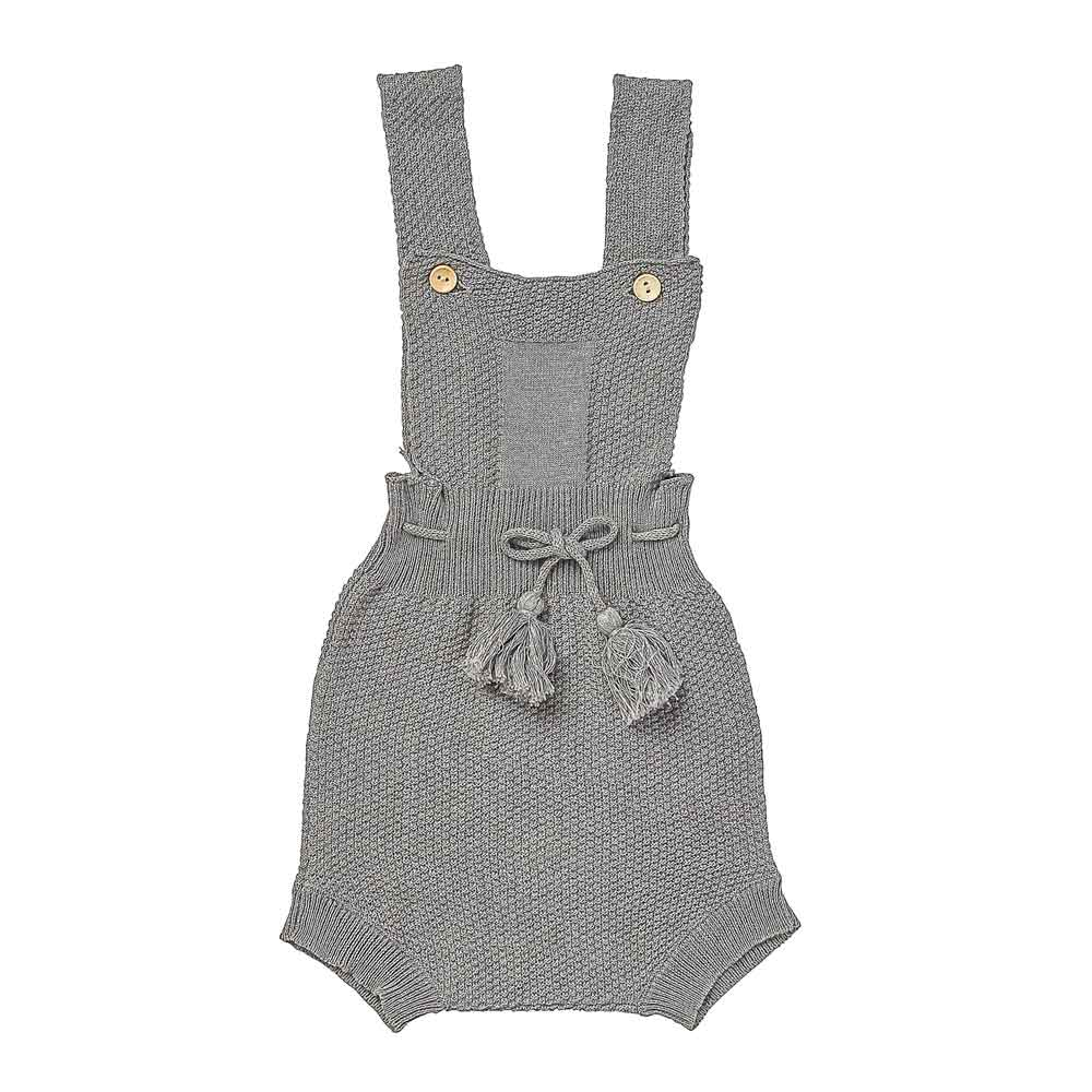 Explorer knitted romper