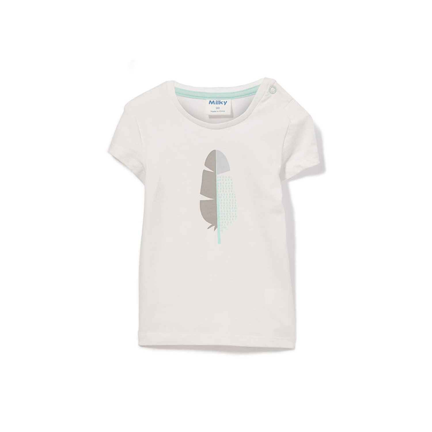 Feather Baby Tee