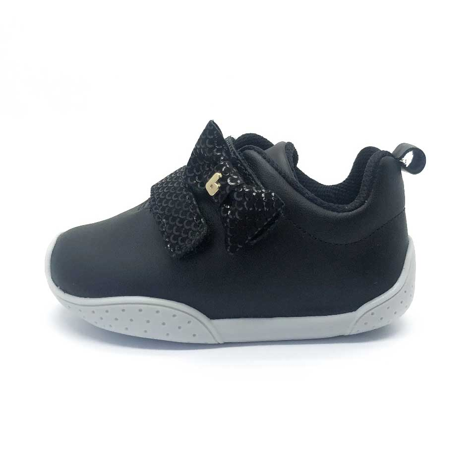 Fisioflex toddler Sneaker Black
