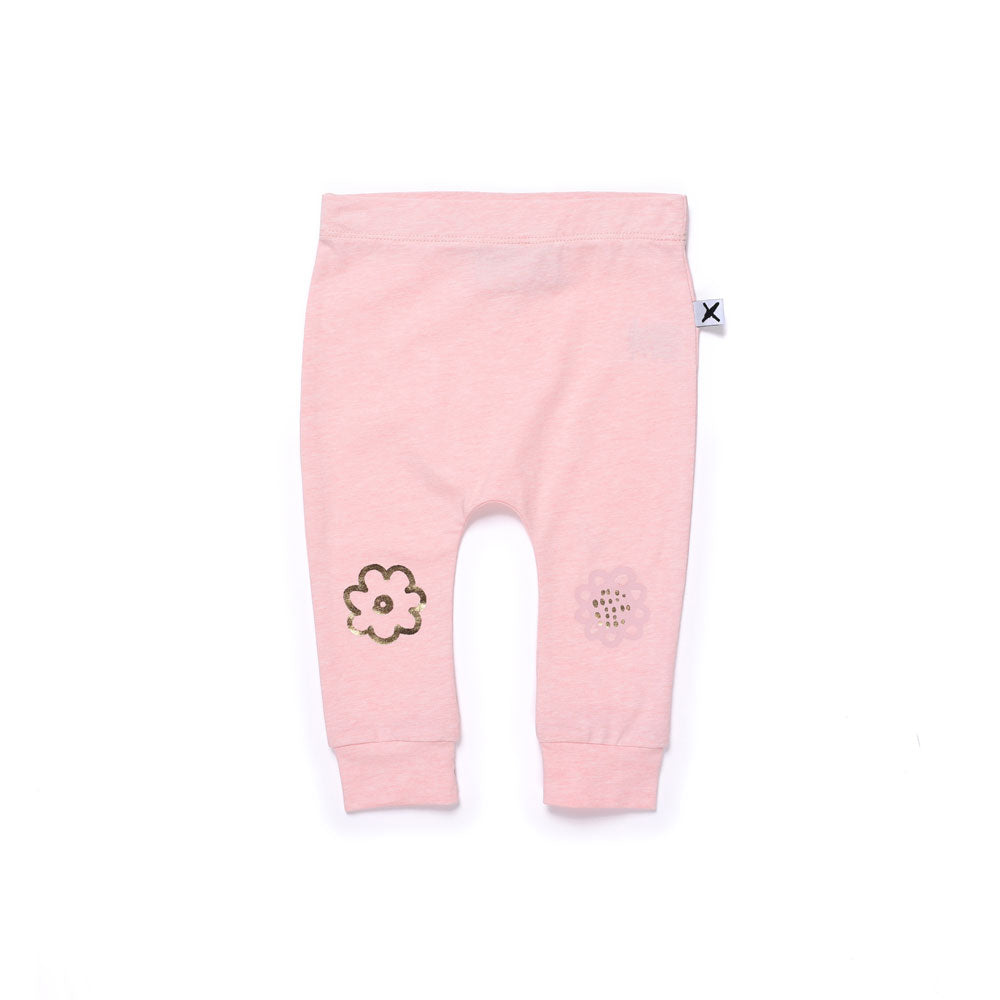 Flower Power Furry Baby Trackies