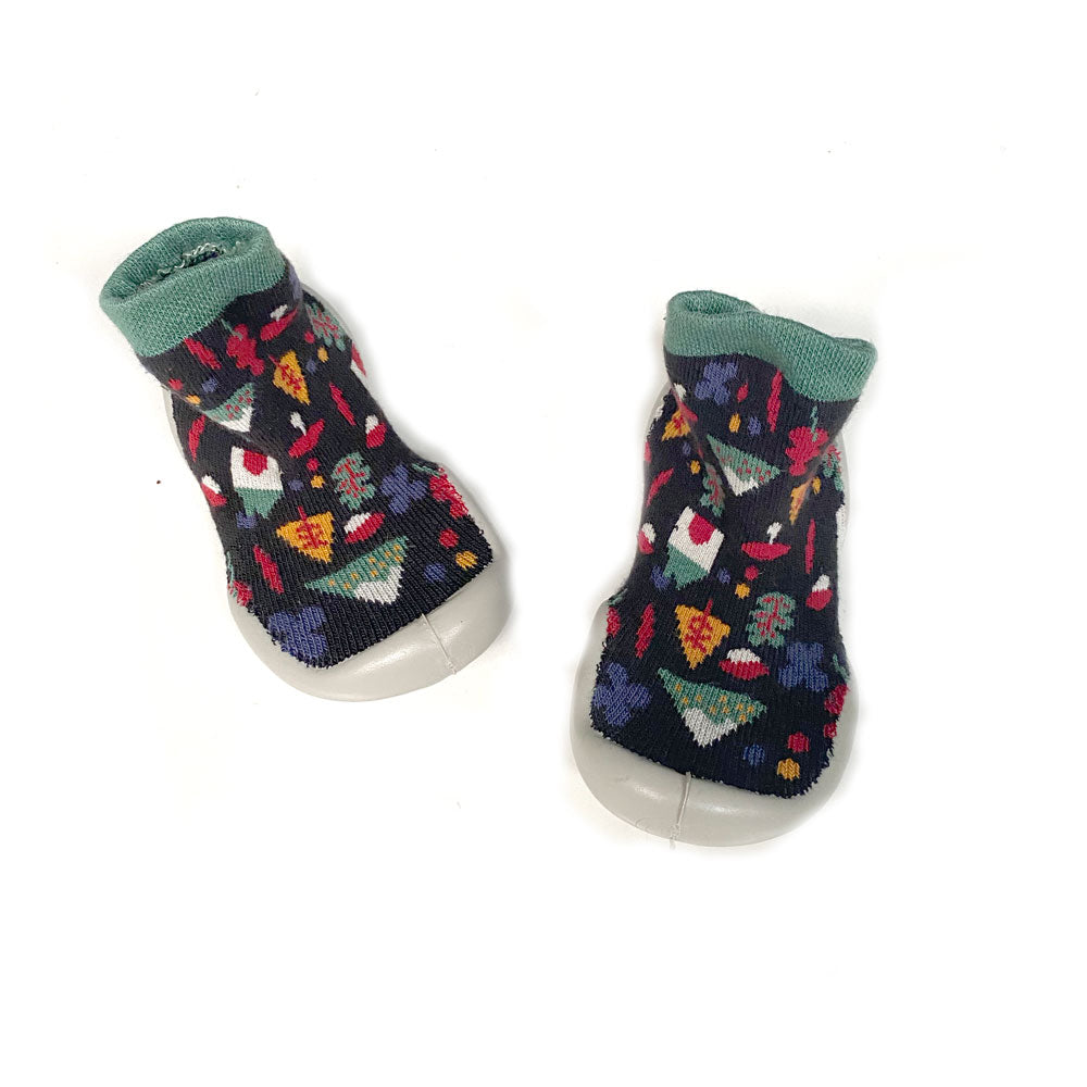 Woodlands Toddler Slipper Sock