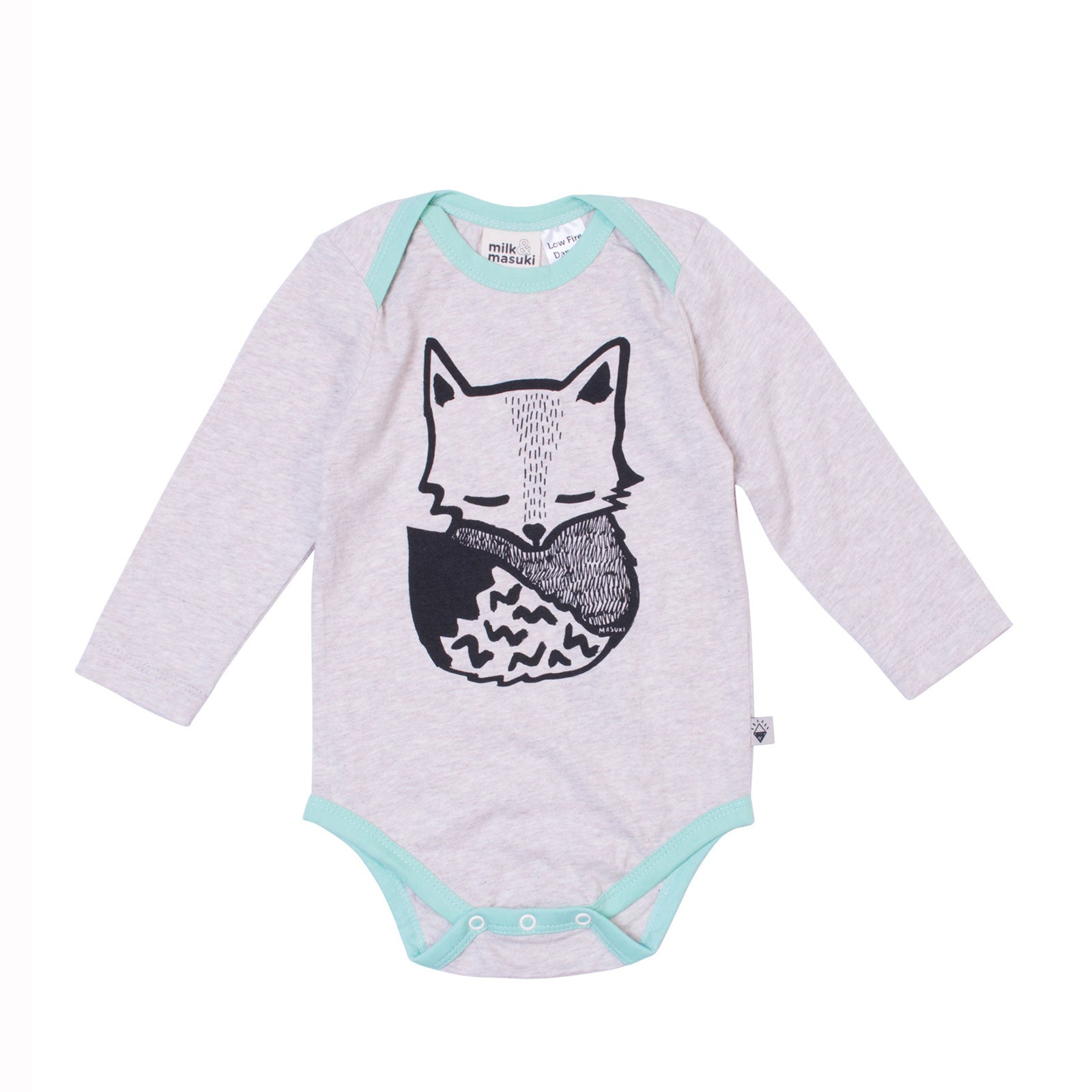Fox Long Sleeve Bodysuit