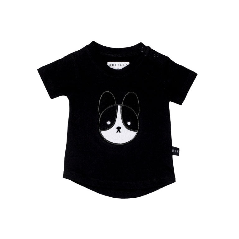 Frenchie Patch T-Shirt Black
