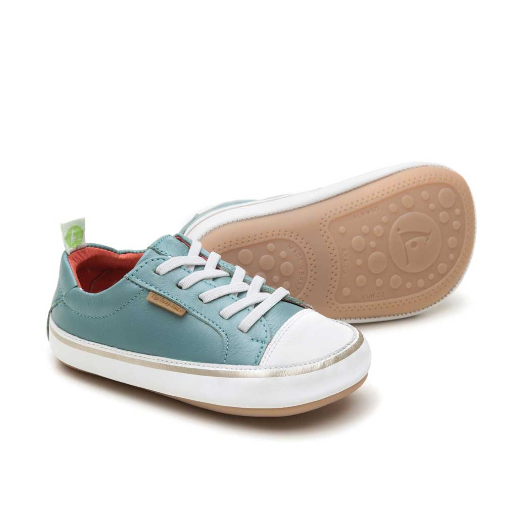 Funky Baby Shoe Antique Green