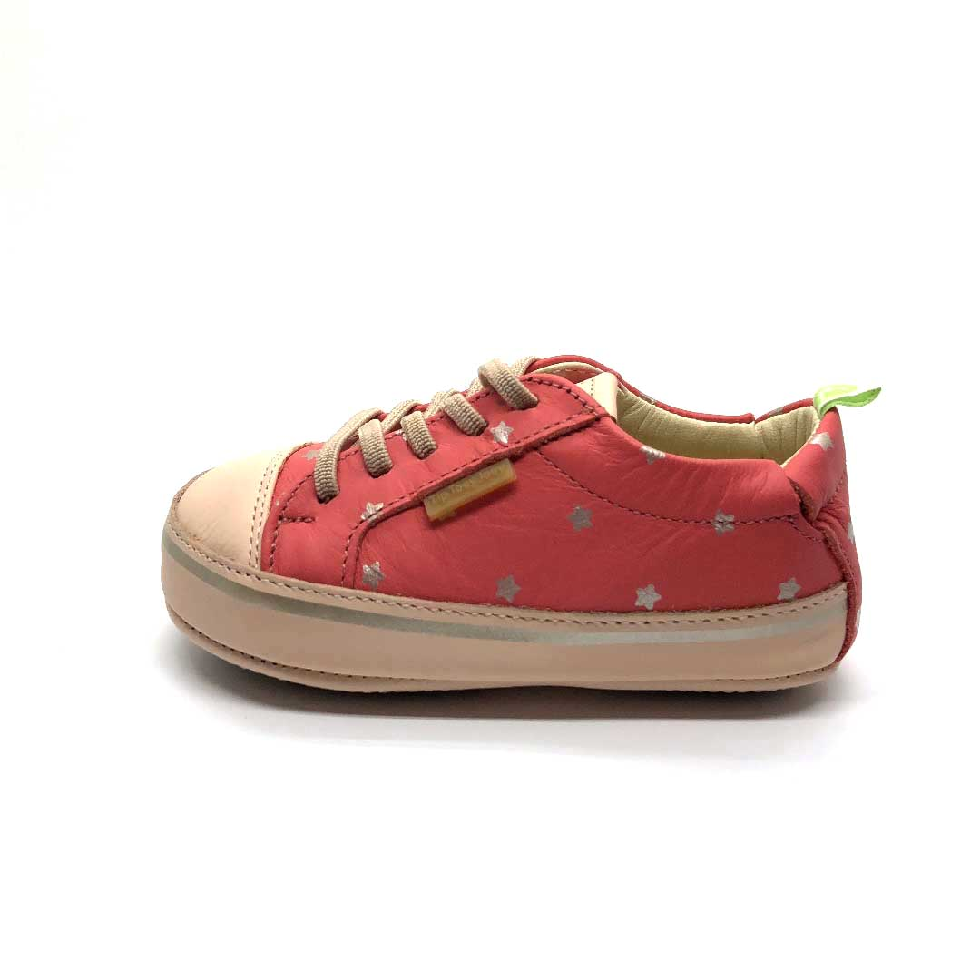 Funky Baby Shoes Coral Stars
