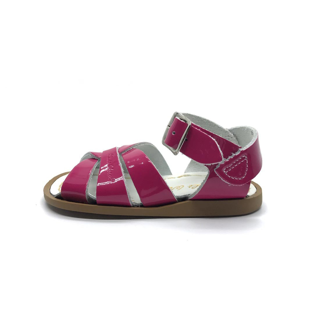 Fuschia Saltwater Sandals