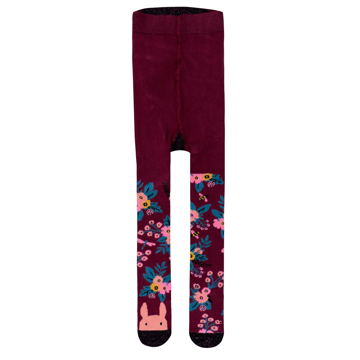 Plum Garden Girls Tights