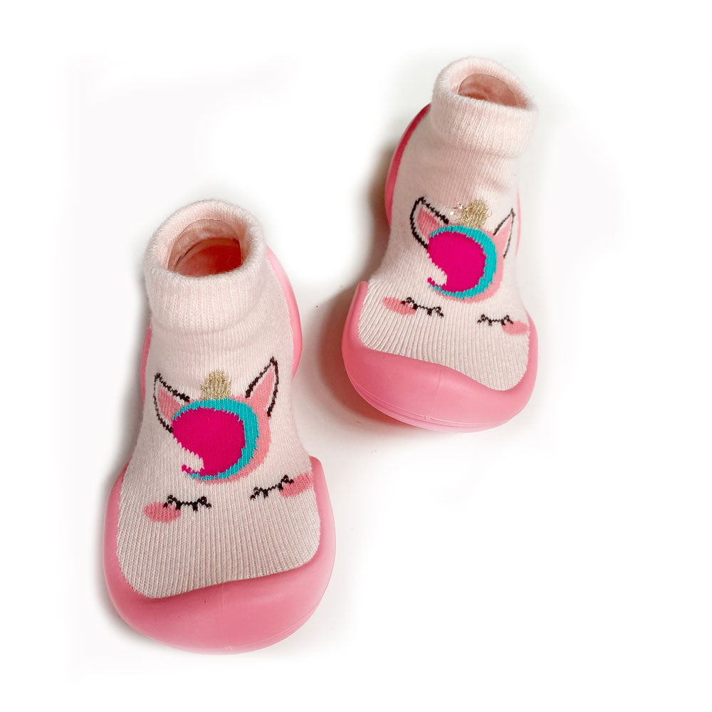 Unicorn Baby Sock Shoe