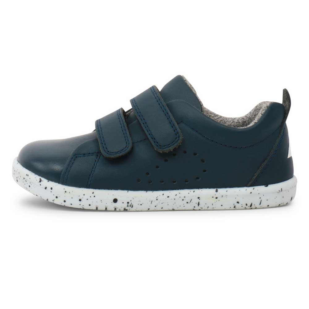 Waterproof Grasscourt Sneaker Navy
