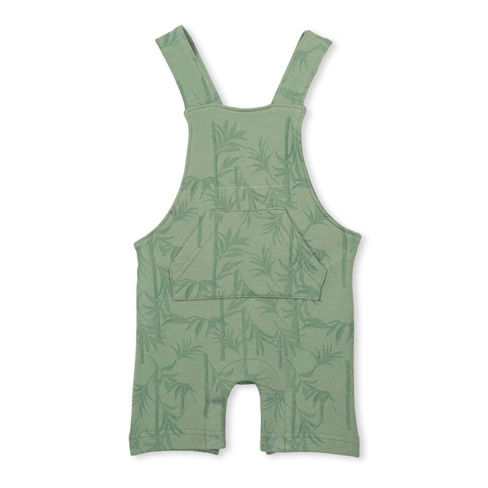 Palm Baby Overall Green