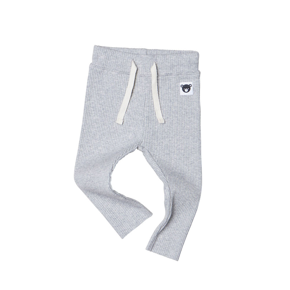 Rib Legging Grey