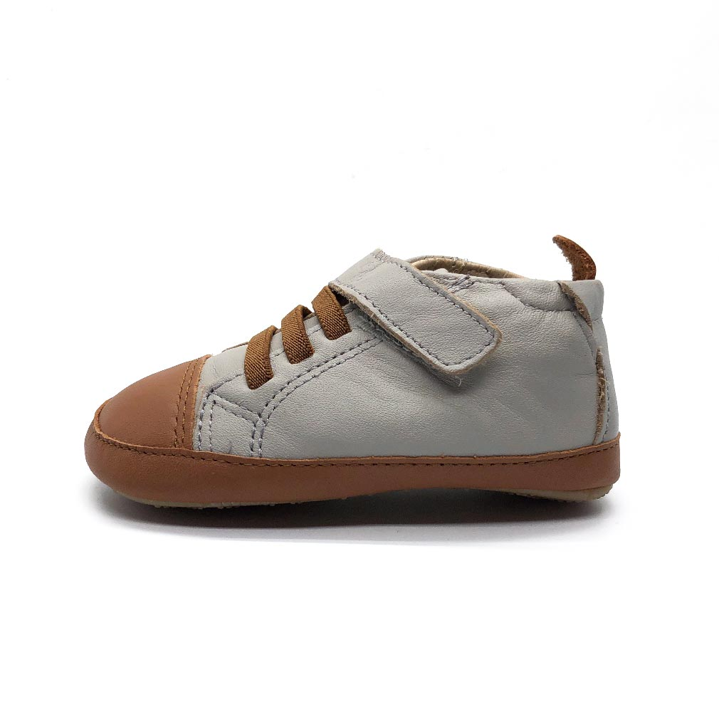 High Ball Baby Shoes Gris/Tan