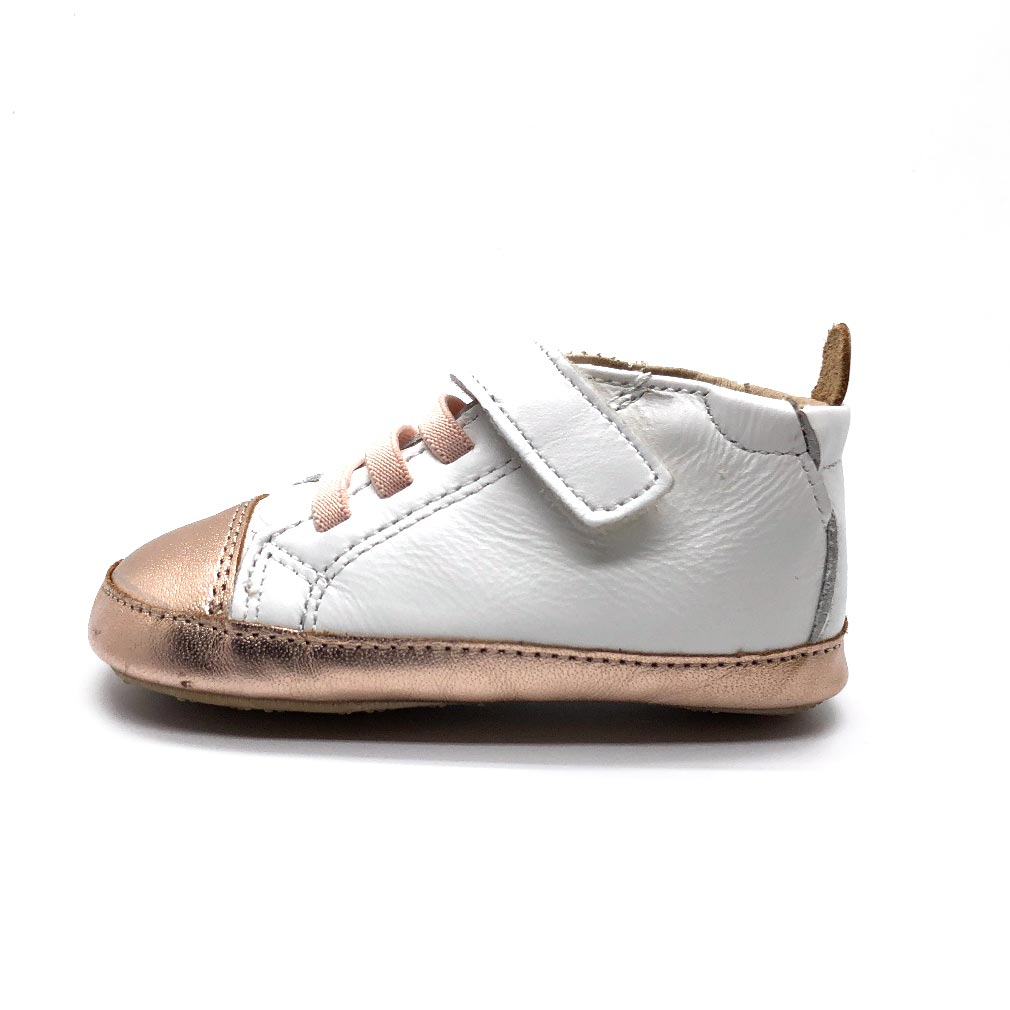 High Ball Baby Shoes Snow/Copper
