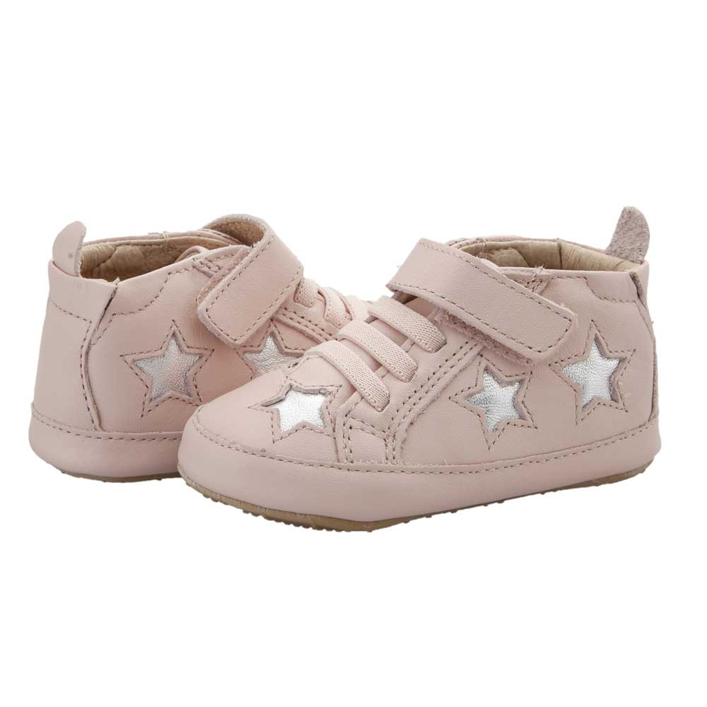 High Splash Baby Shoe Pink/Silver