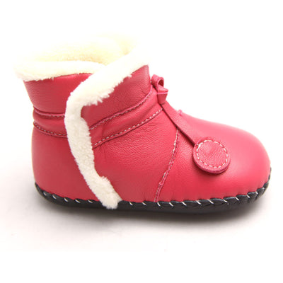 Hot Pink Soft Sole Boots
