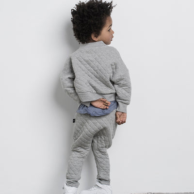 Stitch Drop Crotch Pant Grey