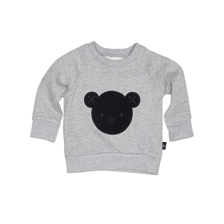 Hux Sweatshirt Grey Marle