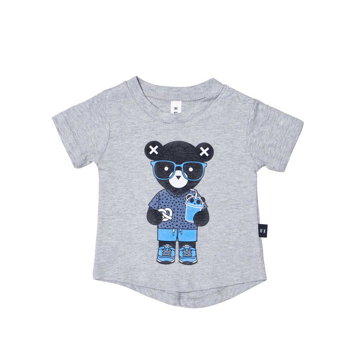 Huxbear Grey T-Shirt