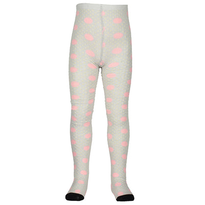 Jacquard Baby Tight Pink Spot