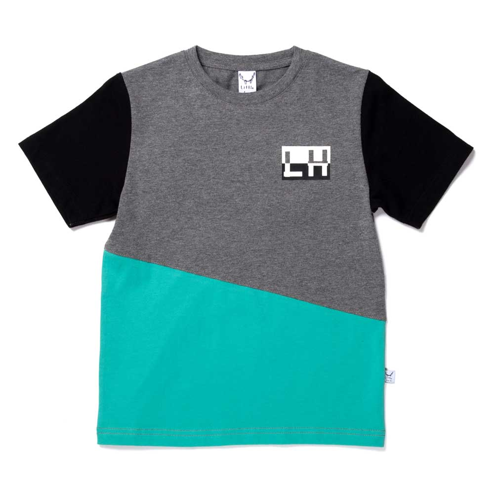 Jagged Tee Teal
