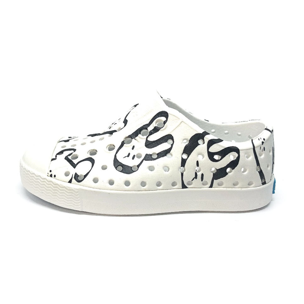 Jefferson Shoes Shell White/ Shell White Animalia
