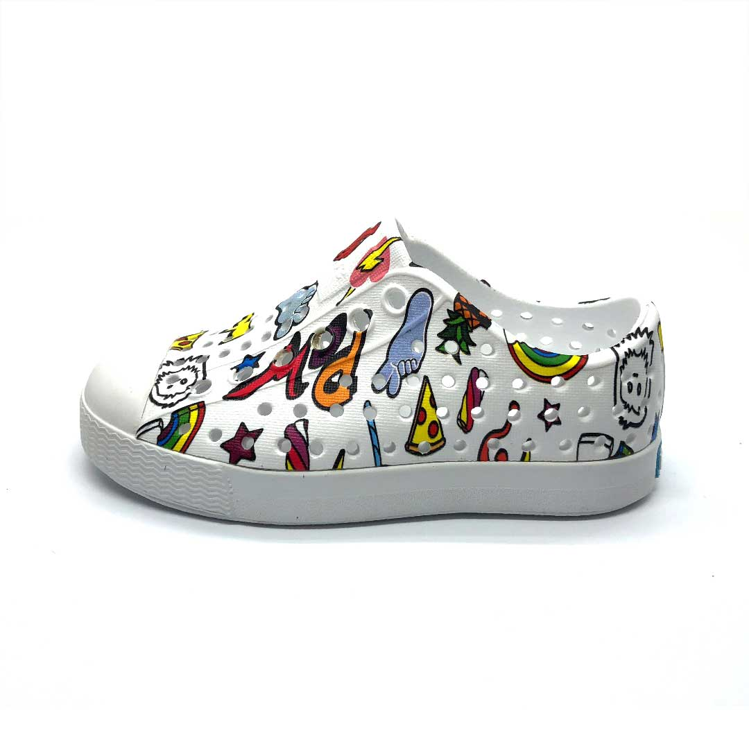 Jefferson Shoes Kid Stickerbook White