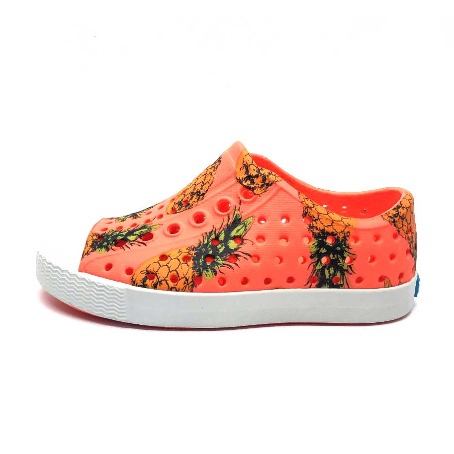 Jefferson Shoes Popstar Orange / Pineapples