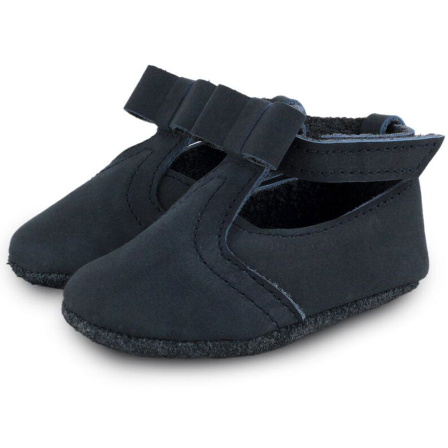 Julie Baby Shoes Nubuck Navy
