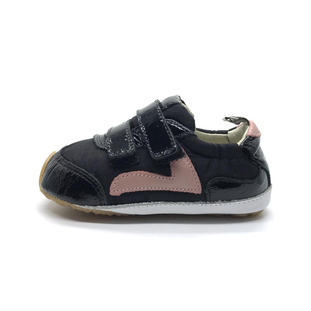 Jumpy Baby Shoe Black
