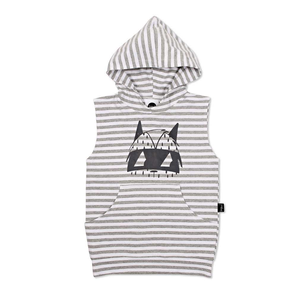 Bandit Hooded Sleeveless Vest