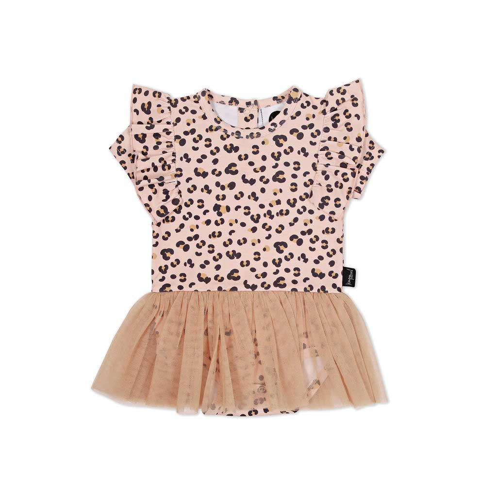 Cheetah Tutu Dress