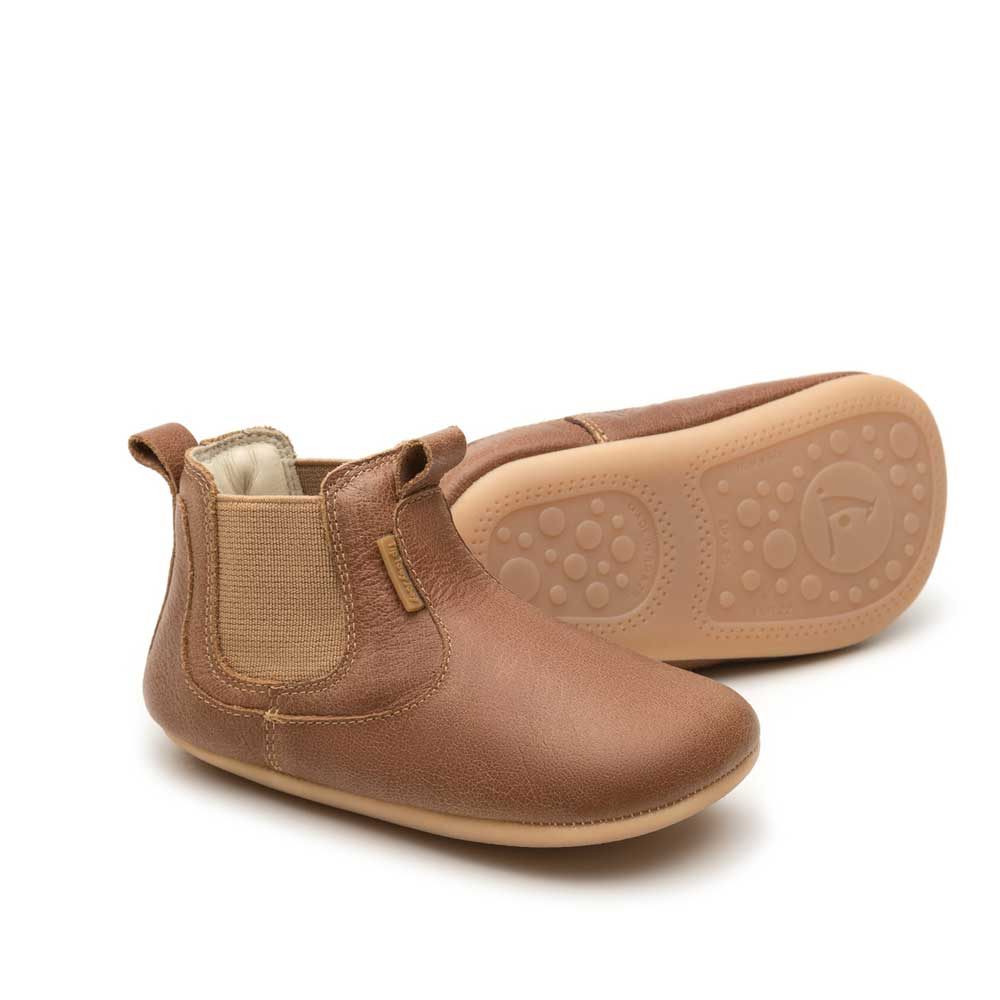 Tip Toey Joey New Kicky Baby Shoe Whisky