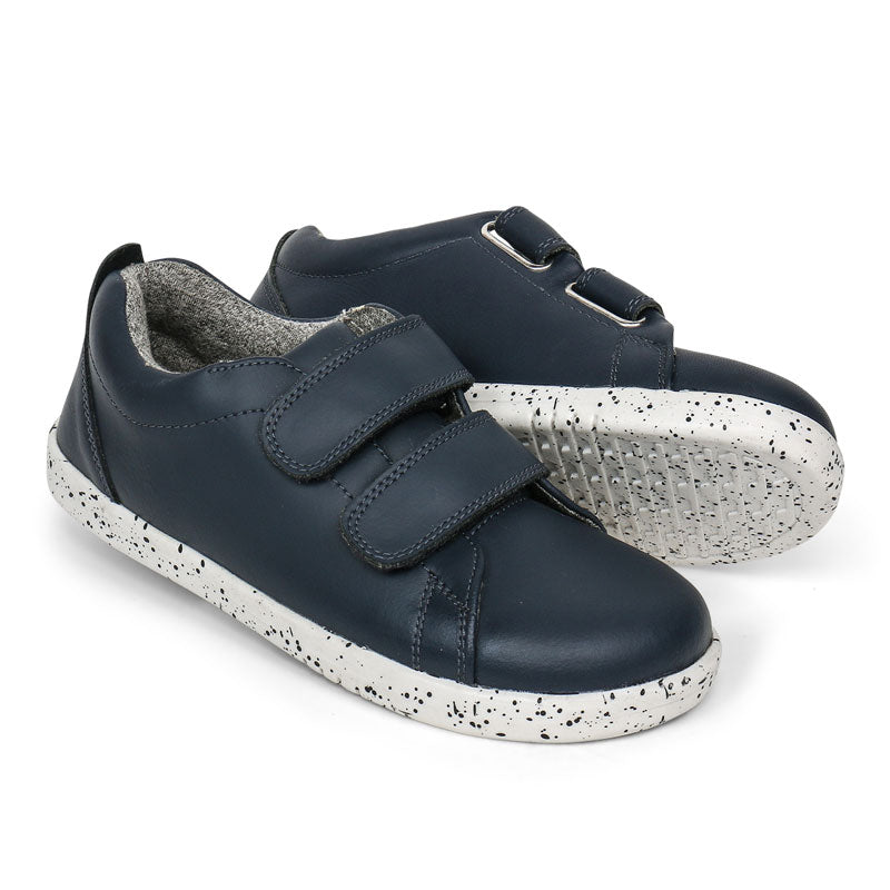 Kids Waterproof Grasscourt Sneaker Navy