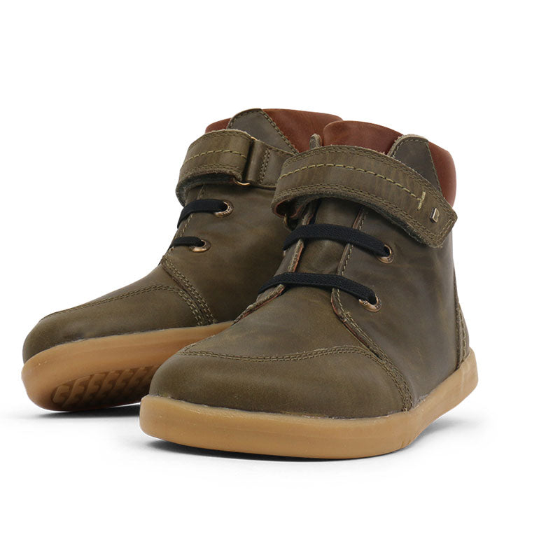 Kids Timber toddler Boots Olive