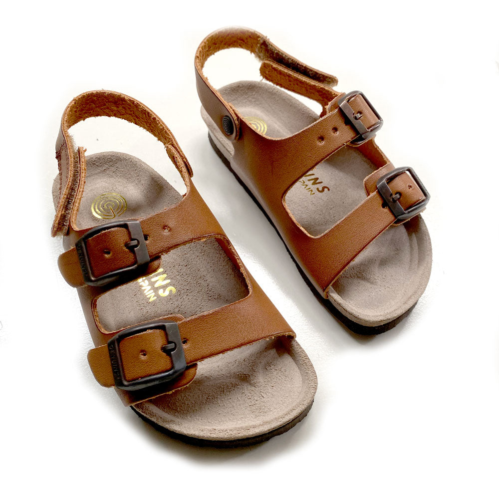 Kindu Vanchetta Kids Sandal Brown