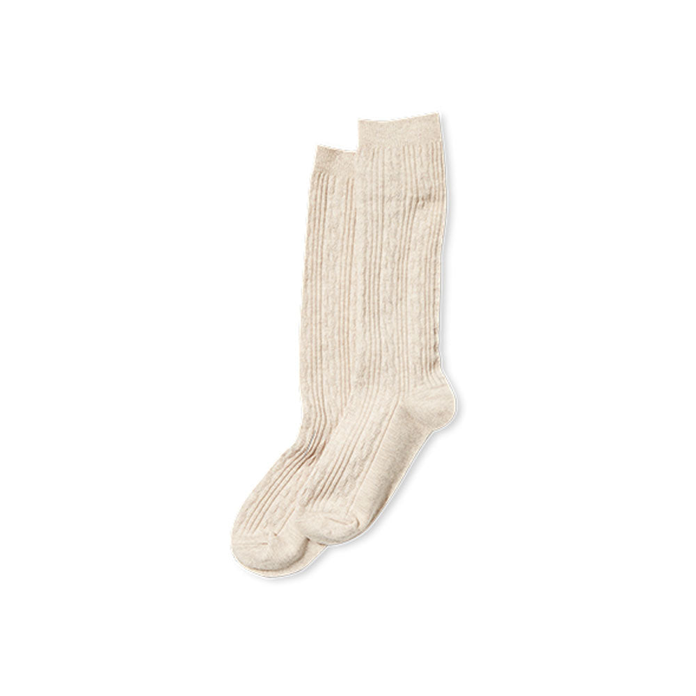 Knee High Socks Oatmeal