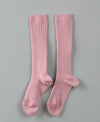 Rib Knee High Sock Rosa Palo