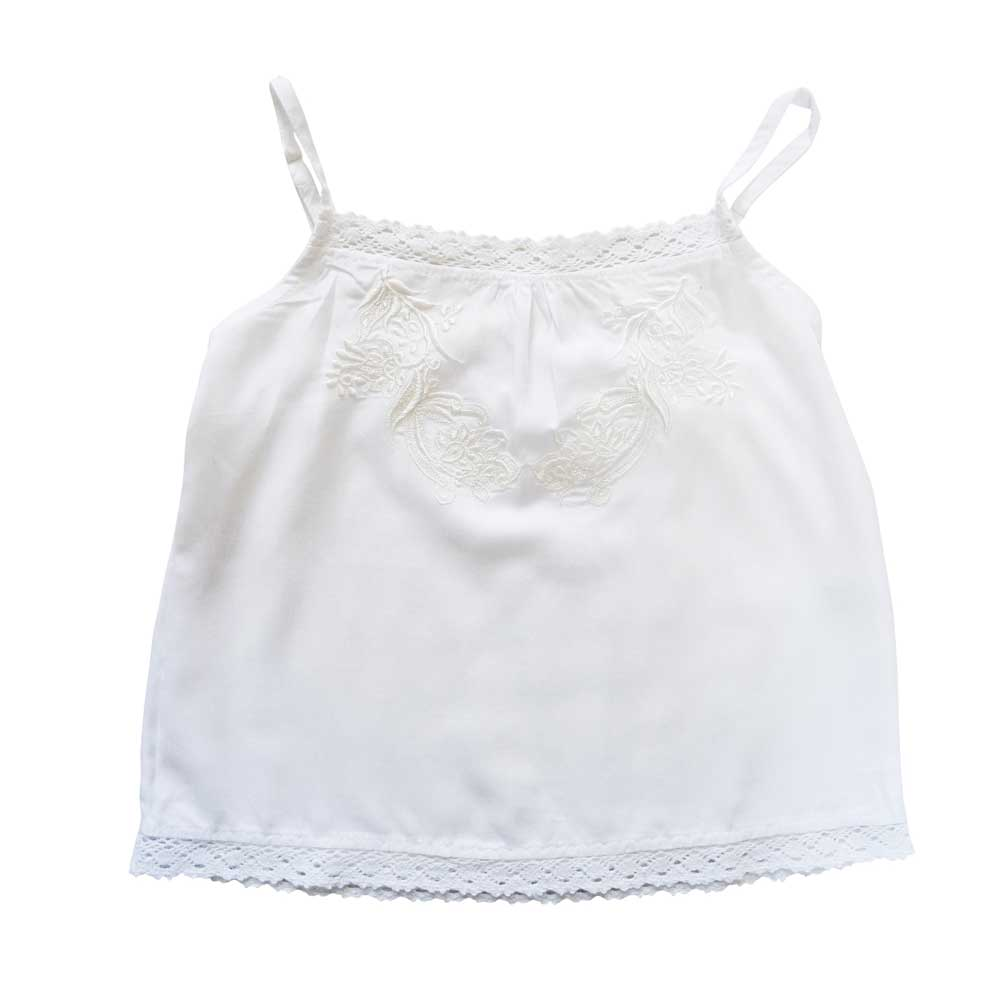 Girls Cami White